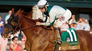 Blue Prize Earns Emotional Spinster Victory, Current Prevails in Bourbon