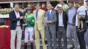 All Smiles for Chad Brown as 'Magical' Saratoga Meet Ends