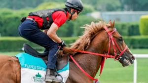 Japan's France Go de Ina Carries Hopes of a Nation as He Vies for Lucrative Belmont Bonus