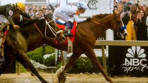 The Year's Best Races, #1: Justify Fends Off All Comers in the Fog to Win the Preakness