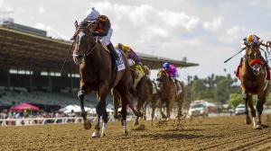 Paradise Woods Wins Zenyatta Stakes, Earns Breeders' Cup Berth