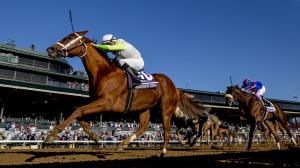 Monomoy Girl Dominant in Distaff, Fan-Favorite Whitmore Shines in Sprint