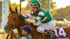 Riding an Incredible Hot Streak, Rosario Settles In For Winter at Santa Anita