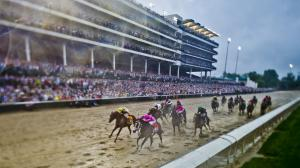 The 2019 Kentucky Derby Presented by Woodford Reserve contenders had to handle a wet track.