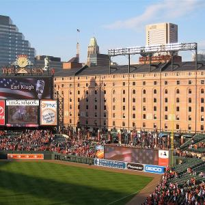 Orioles Game at Oriole Park at Camden Yards (Distance from Pimlico: 5.5 miles, 15 minutes)