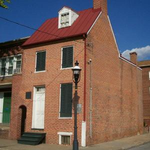 Edgar Allan Poe House & Museum (Distance from Pimlico 7.5 miles, 14 minutes)