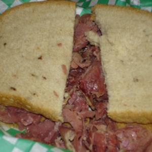 1. Corned Beef Sandwich