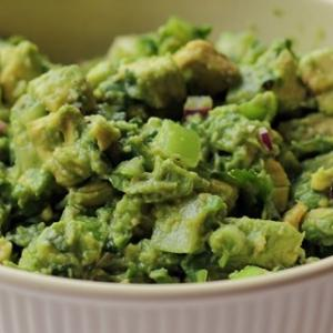 "<a href=""http://bobbyflay.com/recipes/recipes/58/crushed-avocado-with-tomatillo"">1. Crushed Avocado with Tomatillo </a>"