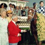 Penny Chenery Dress Among Triple Crown Memorabilia Up for Auction