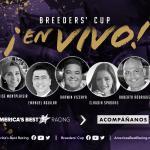 Breeders' Cup y America's Best Racing lanzan Breeders' Cup En Vivo; Una serie de programas que ofrecerán cobertura en Español de varias de las competencias de la Serie Challenge