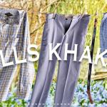 April Bills Khakis Outfit of the Month