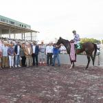 Ashbrook Farm, Rusty Arnold Uncovered Gem in Budding Star Concrete Rose