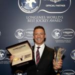 Dettori Honored as Longines World's Best Jockey, Looking Forward to 2019