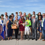 Rising Star Hog Creek Hustle a Perfect Match for Owners, Trainer