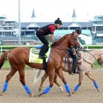 Where to Watch Justify Train for Triple Crown