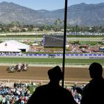 Ice Skating Joins World-Class Racing at Santa Anita Opening Day