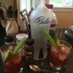 Belle Vodka's Victory Drink of the Month for February: Bloody Belle