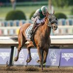 Blue Prize Upsets Midnight Bisou in Longines Breeders' Cup Distaff