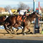 Firenze Fire Overcomes Mother Nature, Seven Trumpets to Take Jerome Stakes