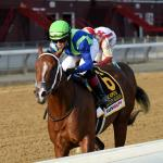 Jackie's Warrior Romps in Hopeful Stakes